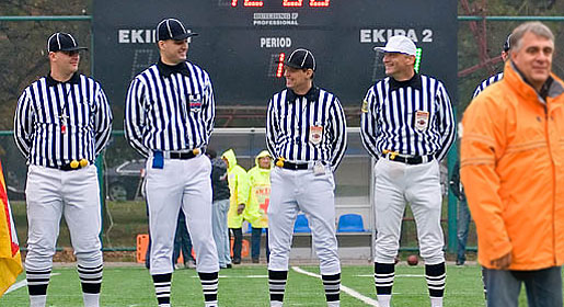Ulicny and one other official will again take part in the CEFL Bowl.