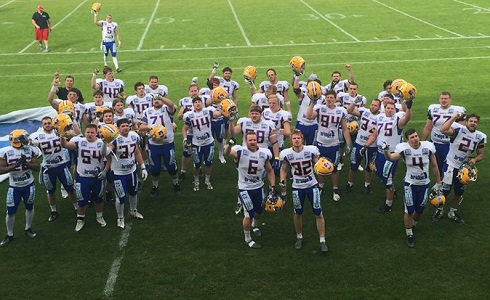 Giants' first win in SK CEFL,